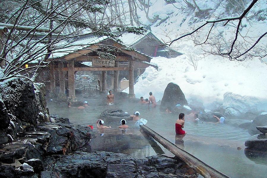 Onsen Japon