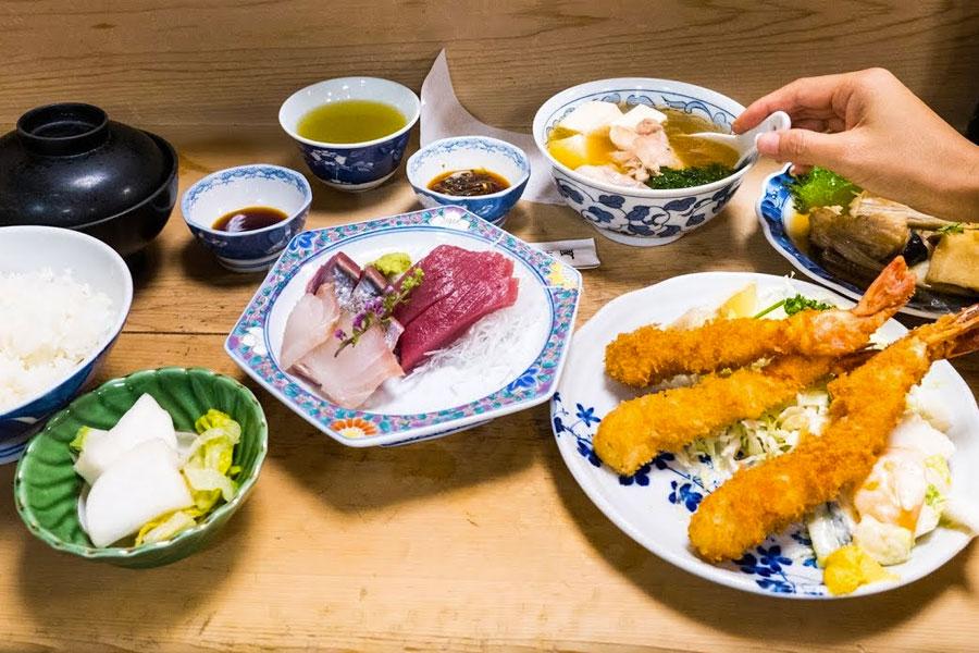 agradecer comida japon