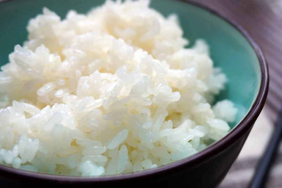 arroz blanco japon