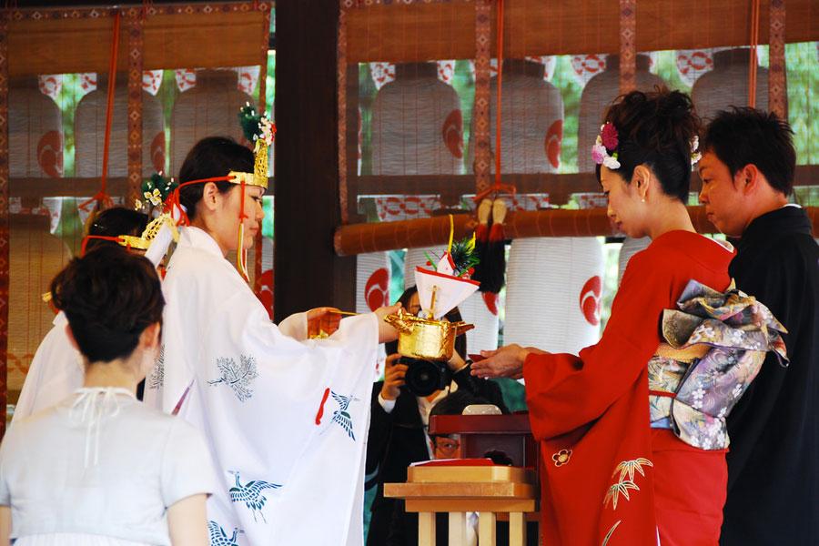 ceremonia boda en japon