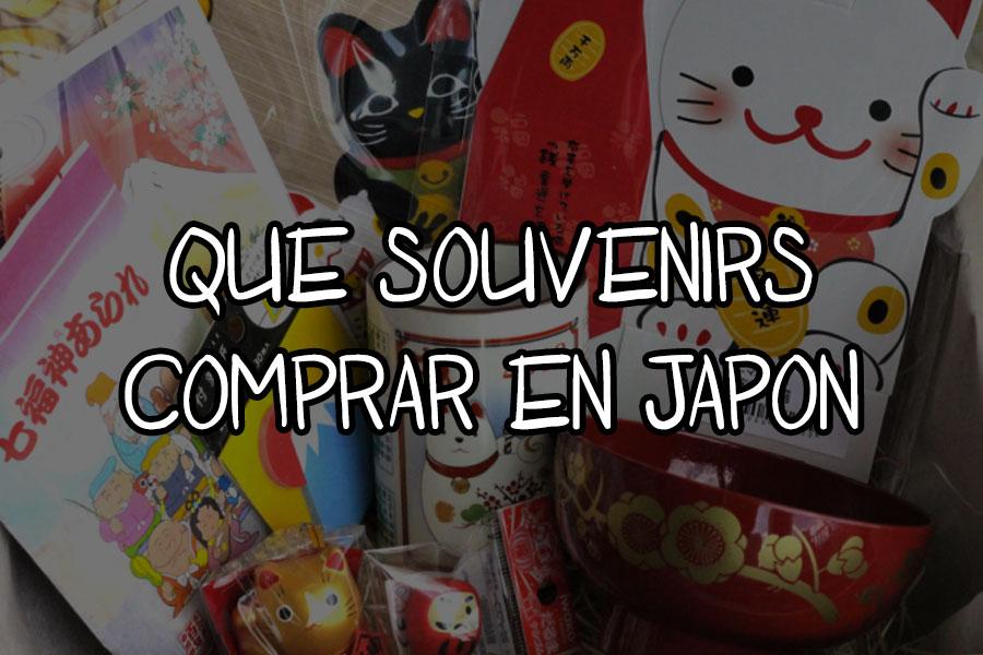 que souvenirs comprar en Japón