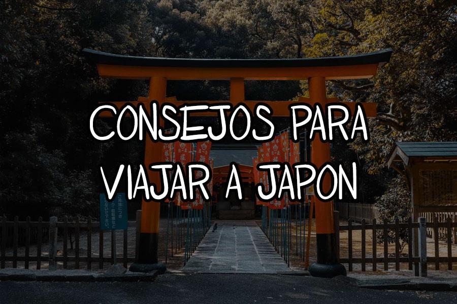 consejos viajar a japon