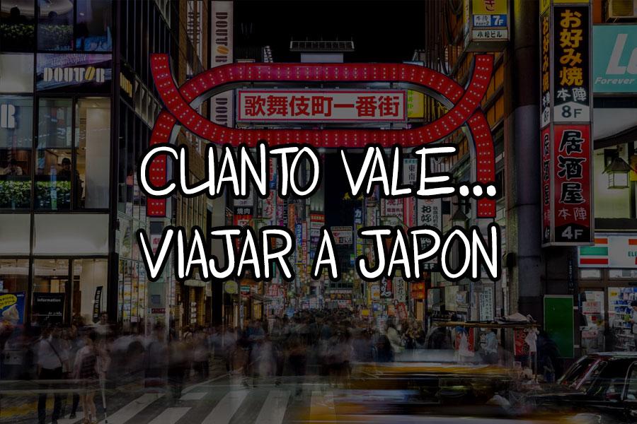 cuanto vale viajar a japon