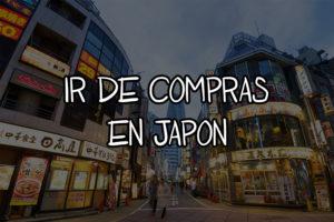 ir de compras en japon