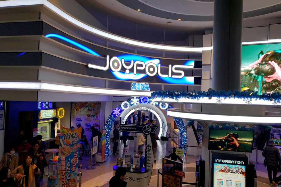 Joypolis de Osaka