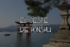oeste de honshu