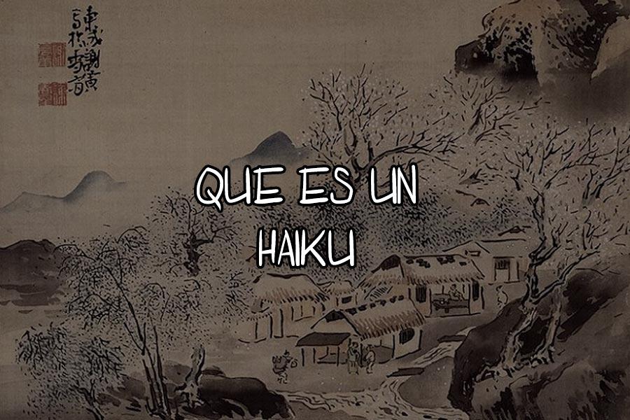 que es un haiku