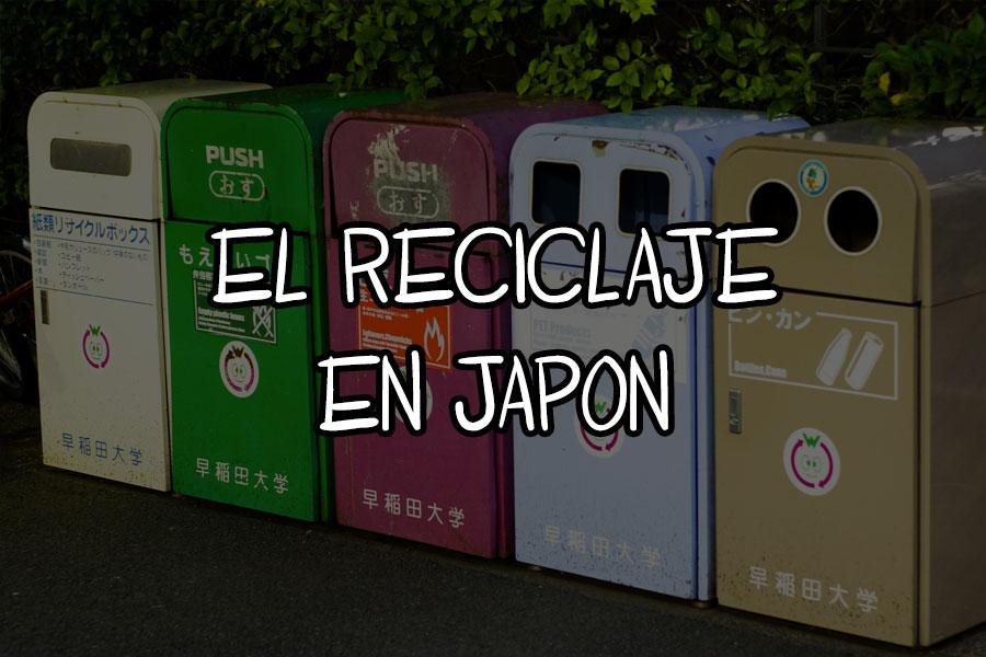 reciclaje en Japon