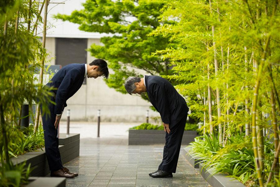 saludo japones