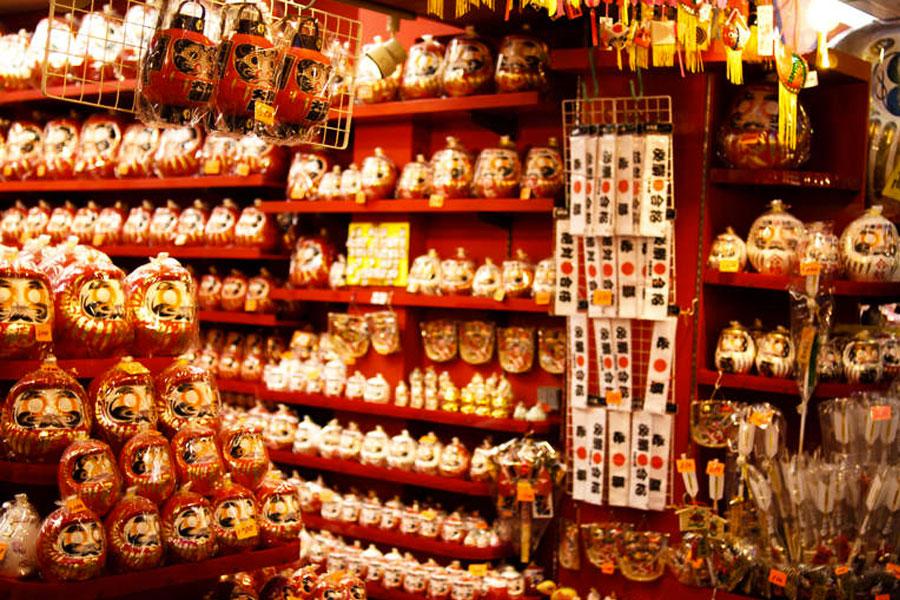 souvenirs en japon