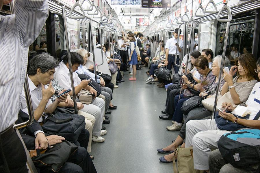transporte publico comportamiento