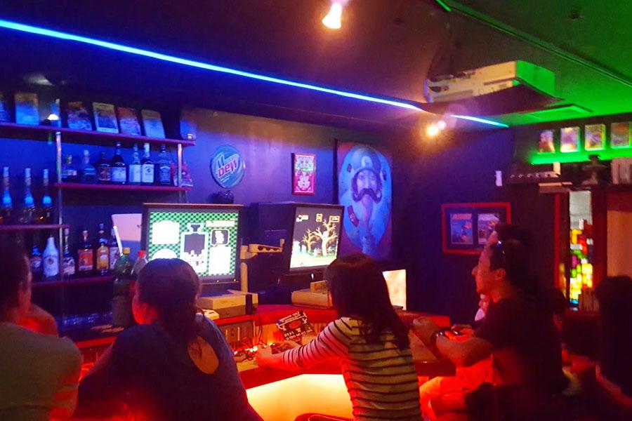 videogame bar en Osaka