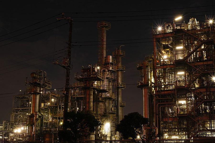 Keihin Industrial Ward en Kawasaki