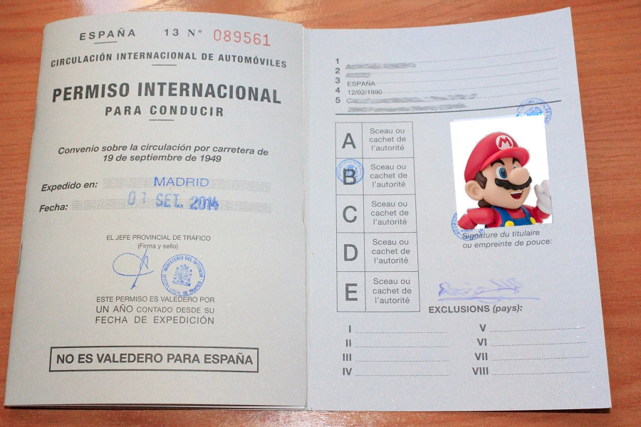 carnet internacional