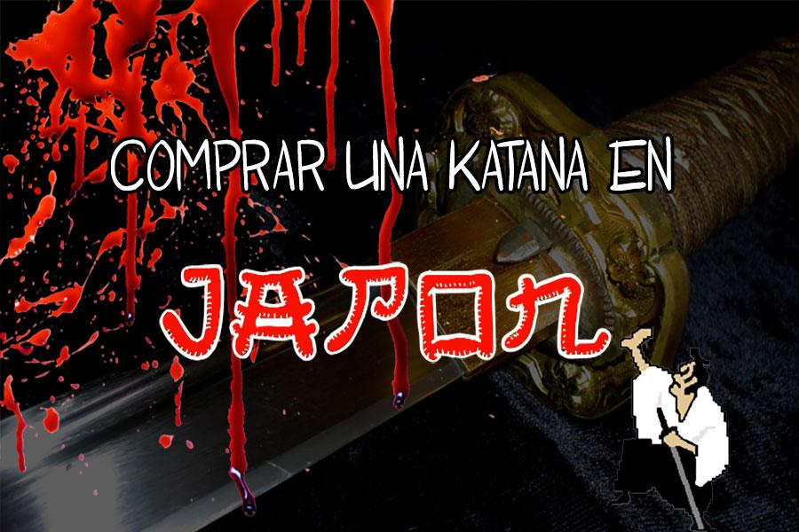 comprar katana en Japón