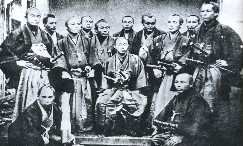 foto autentico samurai