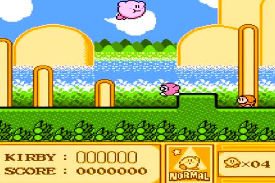 juego Kirby para NES
