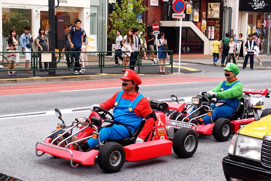 Tour Mario Kart Tokio