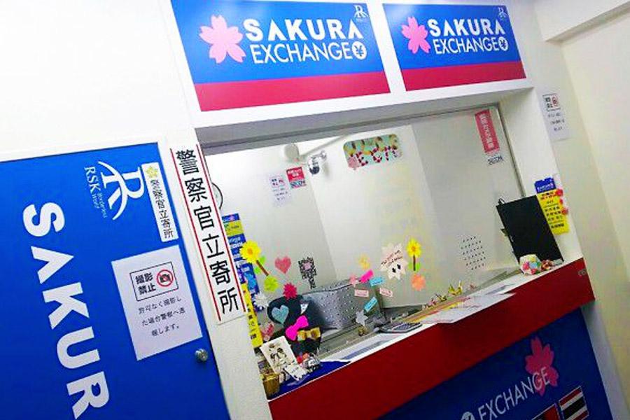 sakura cambiar dinero