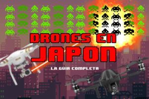 drones en Japón