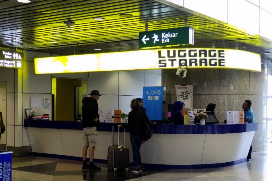 Consigna aeropuerto Japón