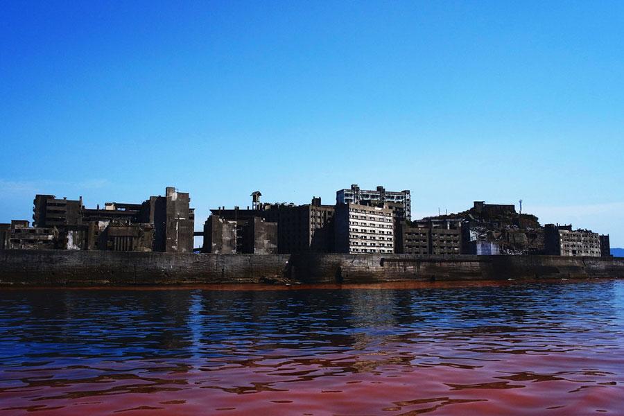 Hashima isla fantasma