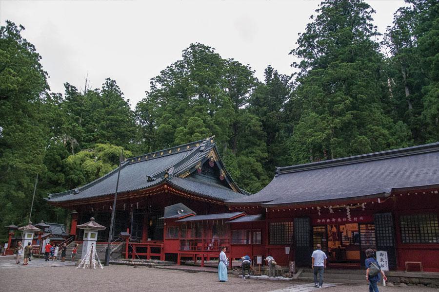 Santuario Futarasan en Nikko