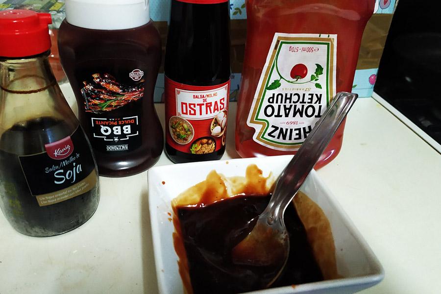 salsa Bulldog casera